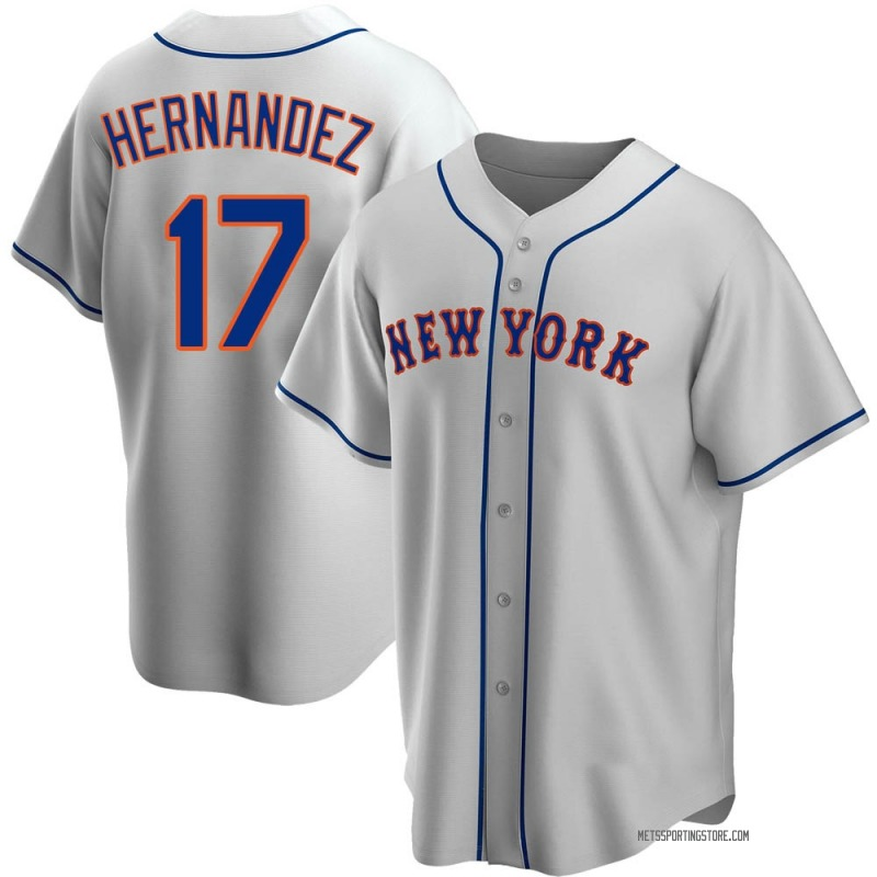 Youth Keith Hernandez New York Mets Replica Gray Road Jersey