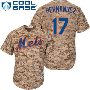 Men's Majestic Keith Hernandez New York Mets Authentic Camo Alternate Cool Base Jersey